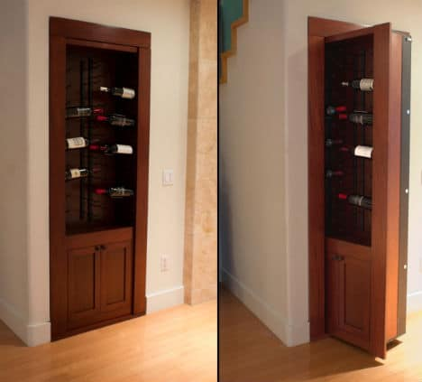 Hidden gun rooms revealed creative ideas to safekeep your for Hidden gun room