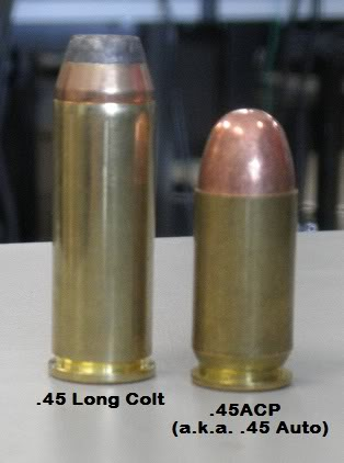 45 ACP VS. 45 COLT