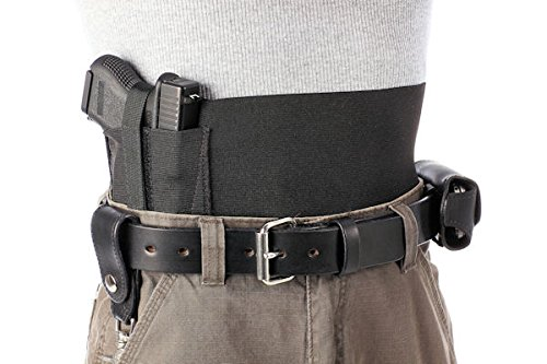 Daltech Force Safestcarry Belly Band Gun Holster with extra Mag Holster
