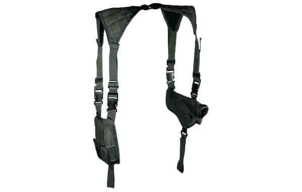 Black Deluxe Universal Horizontal Shoulder Holster