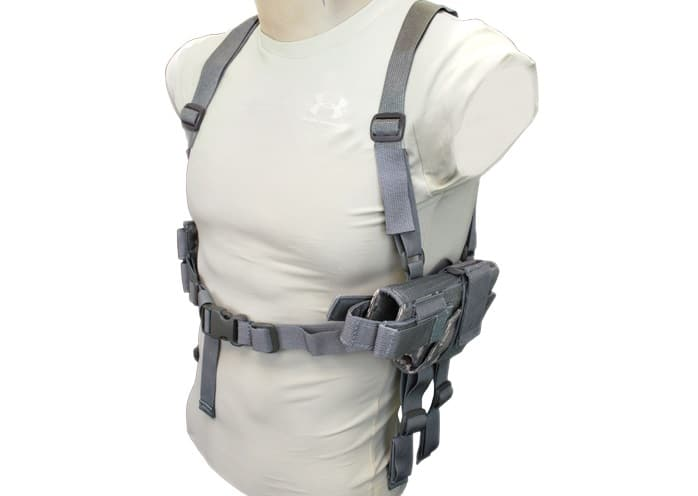 Gray Tactical Shoulder Holster
