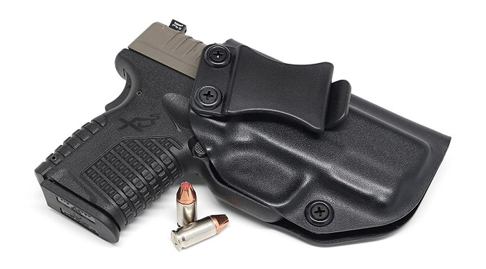 "Concealment Express holster for Springfield XD-S 3.3"" 9MM/40SW/45ACP"