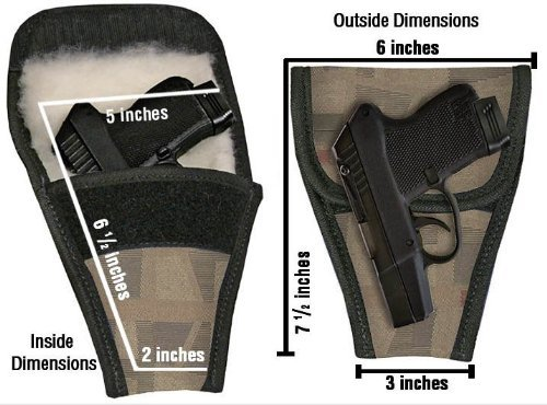 Concealed Carry Removable Purse Holster