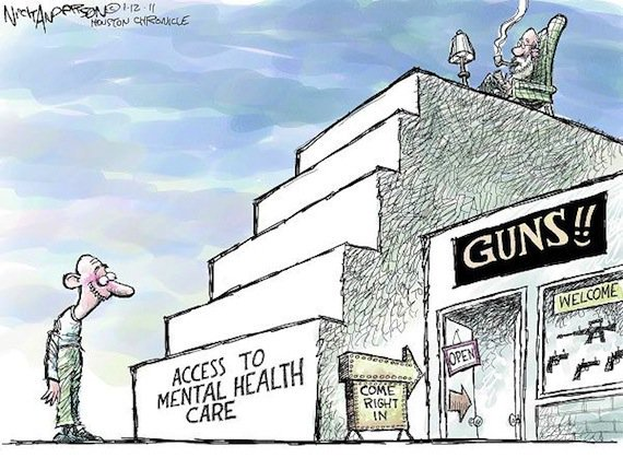 access to guns for the mentally ill