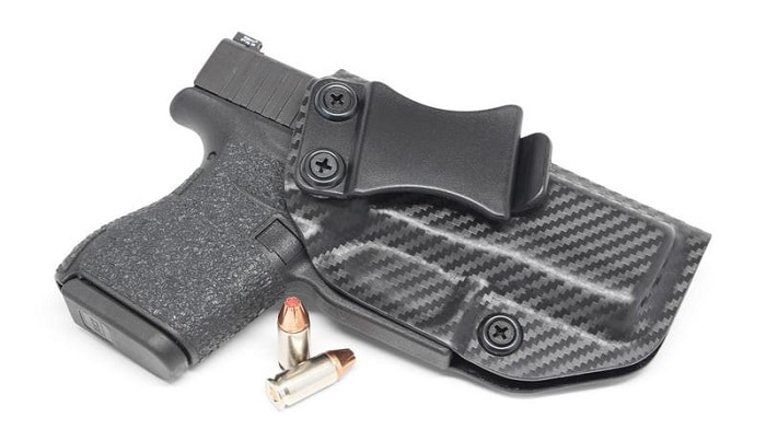 Hand Molded Adjustable Cant IWB KYDEX Holster for the Glock G43
