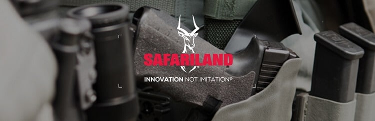 SafariLand logo and motto