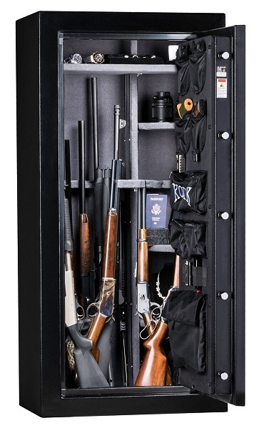 Kodiak Gun Safe with Electronic Lock and Patented Swing Out Gun Rack