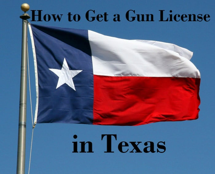 how to get a gun license in Texas