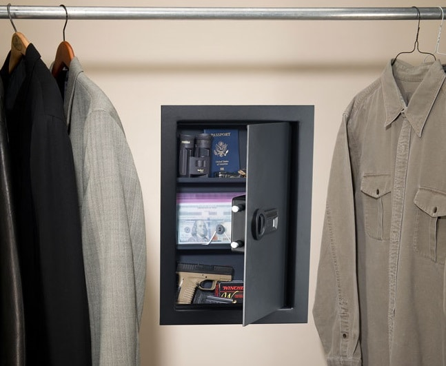 Reviewing the 6 Best in Wall Gun Safes in 2018