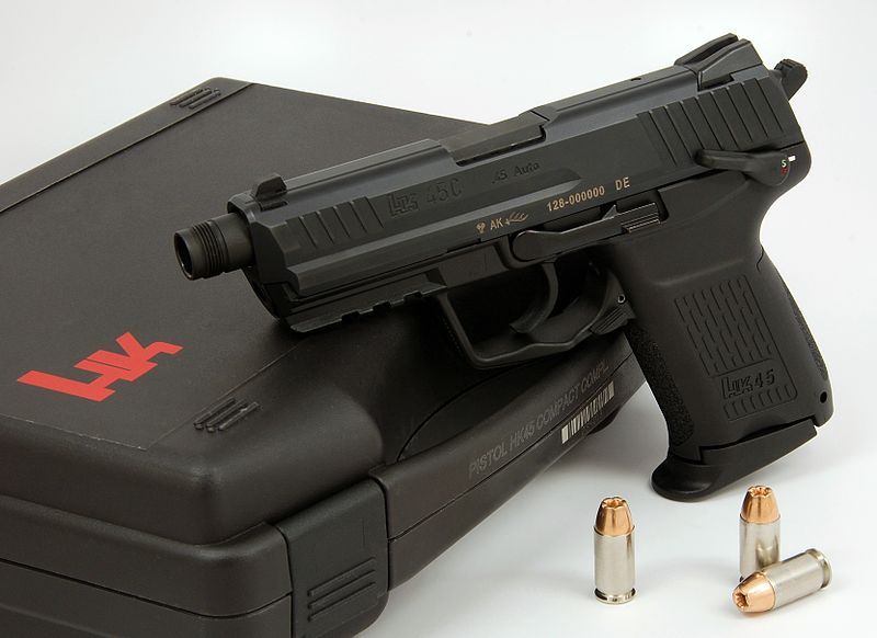 HK45 Tactical Review