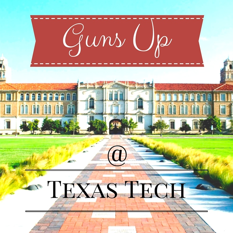 Texas Tech to Allow Concealed Carry in Classrooms
