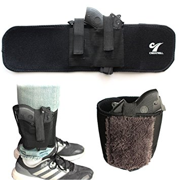 Neoprene Ankle Holster with Padding for Concealed Carry