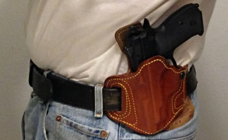 Slide Guard holster by High Noon Holders