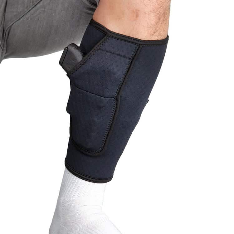 dark blue BugBite ankle Holster