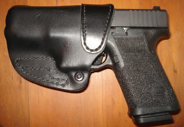 Bare Asset leather holster
