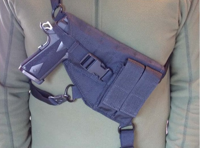 Ultimate Chest Holster by Man Gear Alaska