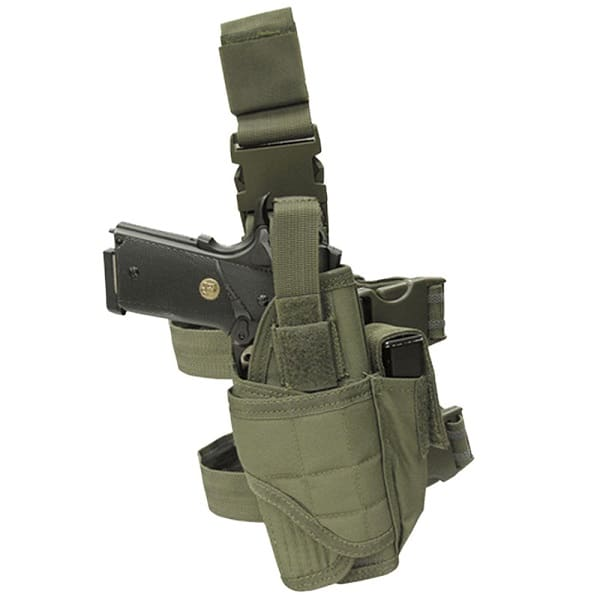 olive tactical leg holster