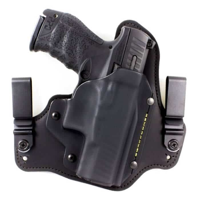 Springfield XD-S 3.3 IWB Hybrid Holster with Adjustable Retention and Comfort Curve