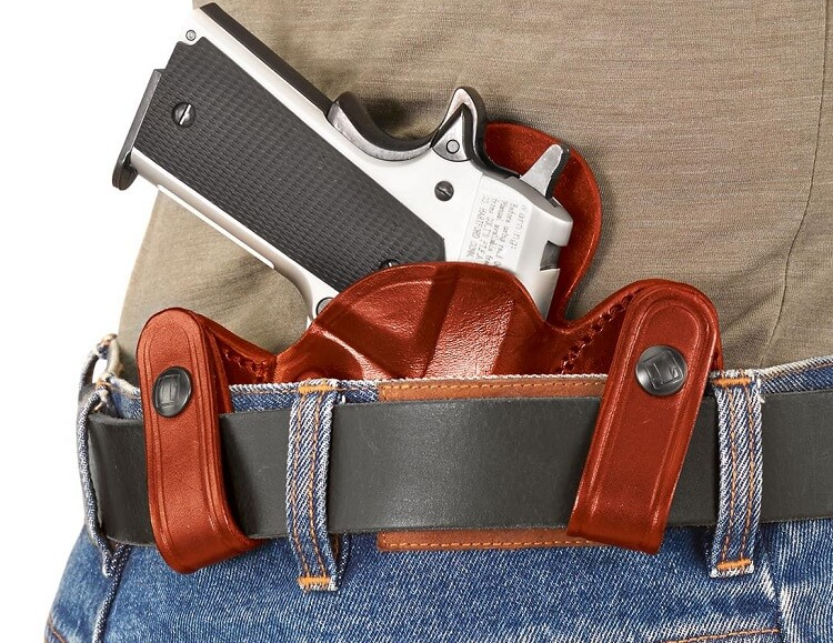 Tagua leather holster