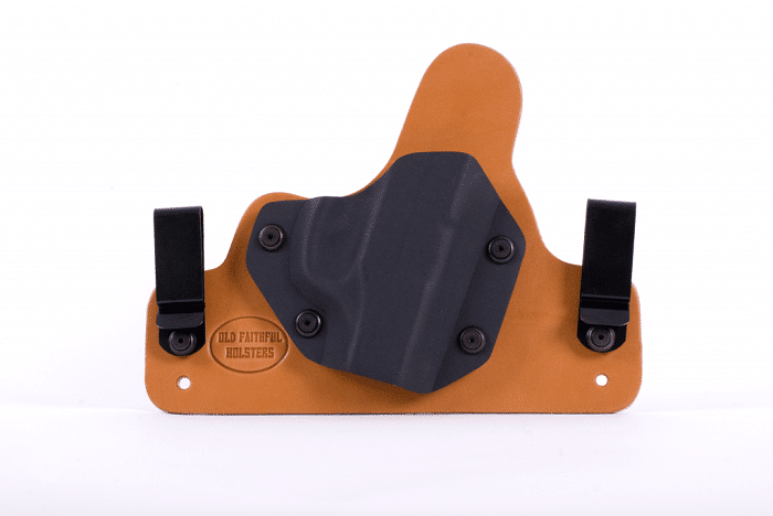 Holster made by Old Faithful Holsters