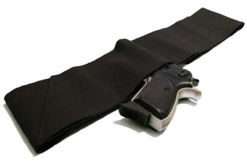 Four Way Belly Band Gun Holster