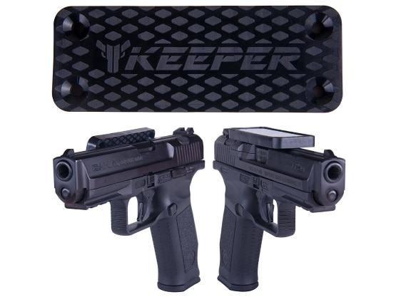 Keeper Magnetic Gun Mount & Holster