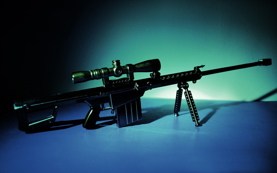 sample of sniper rifle