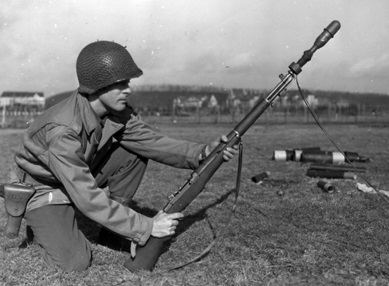 a soldier in world war II