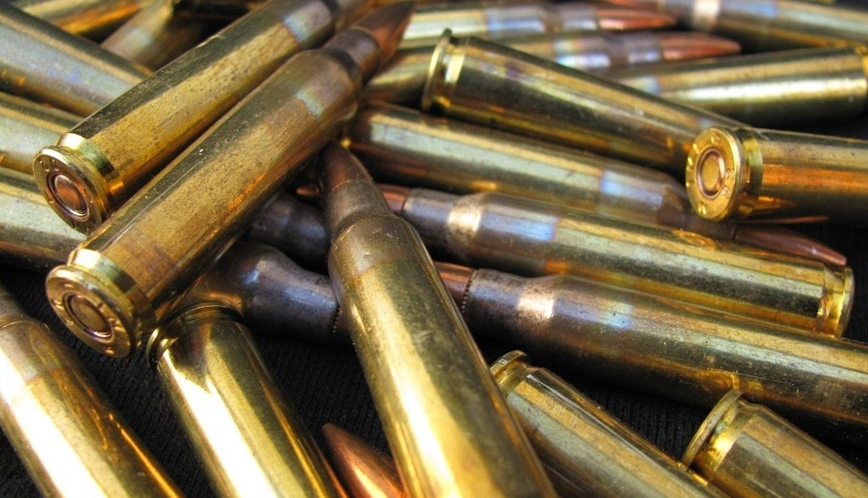 Group of 5.56 ammunations