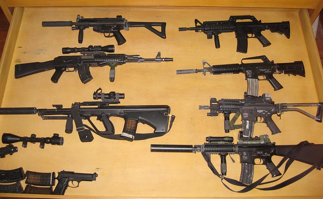 different kind of guns