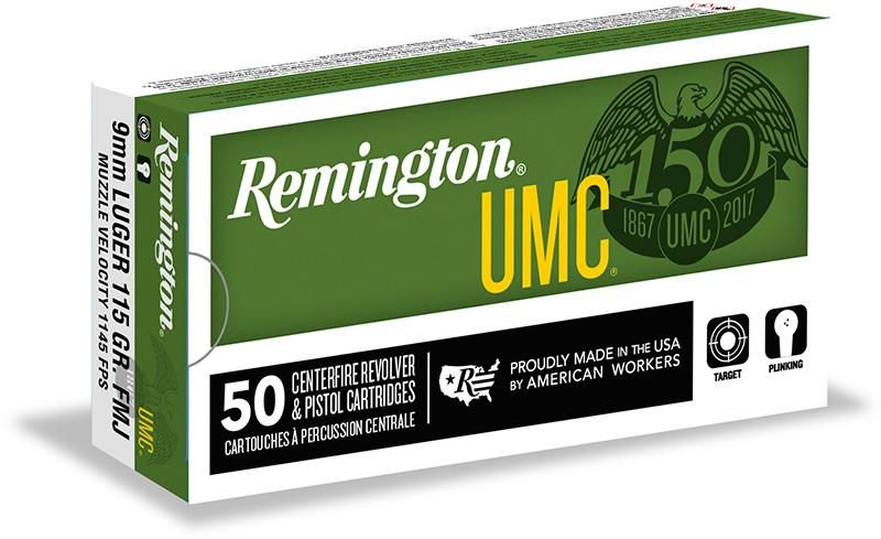 A box of Remington Ammo