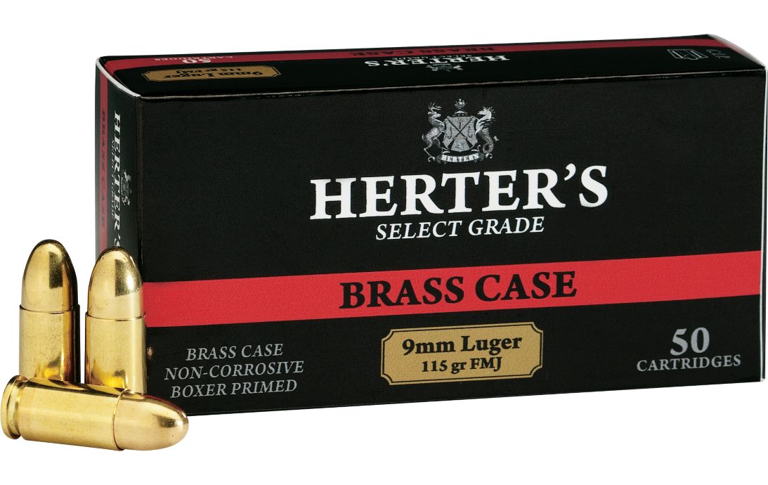 Herter's Select Grade 9mm Ammo